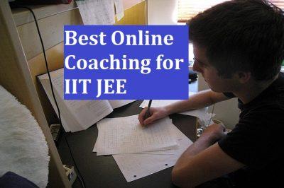 Best IIT JEE Online Coaching